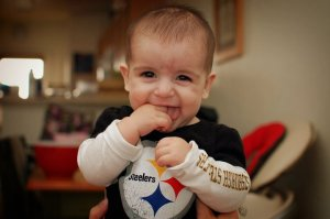 Here we go Steelers!  HERE WE GO!!!